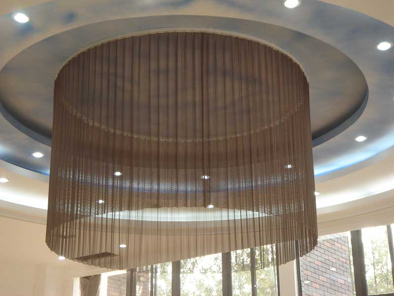 Mesh Curtain Panels : Mesh curtain metal curtains decorative