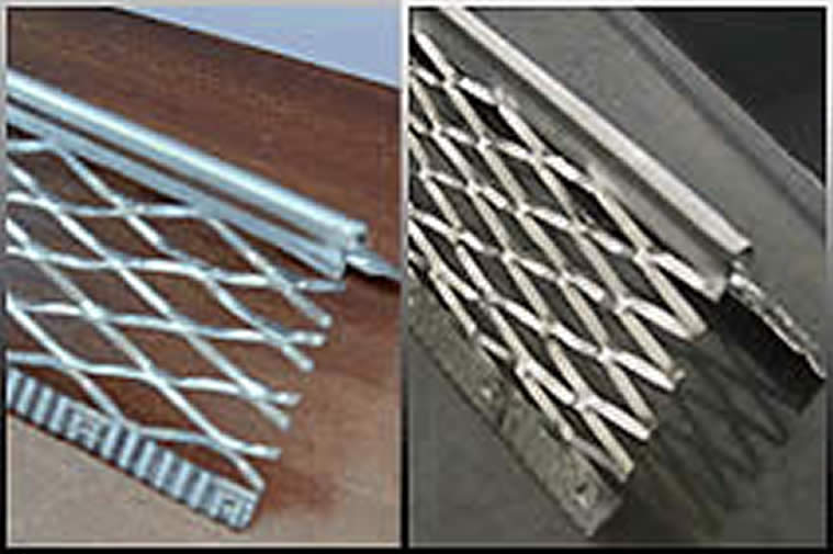 Stainless Steel Corner Bead : Expanded metal angle bead corner beads the