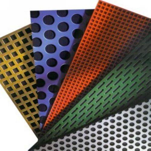 Pvc Coated Perforated Metal Pvc Coated Metal Perforated