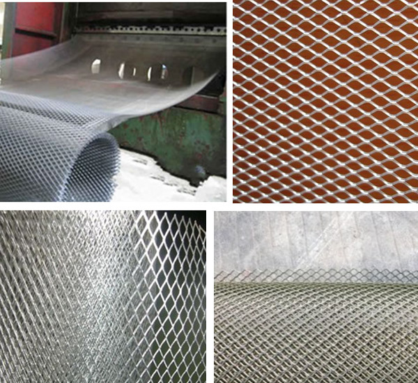 Stretched Mesh Screen Expanded Mesh Screen Steel Screen